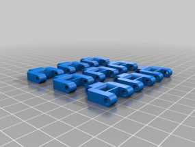坦克机器人 履带 3D模型