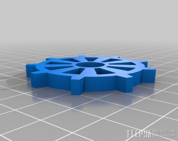 坦克机器人 履带 3D模型  图4