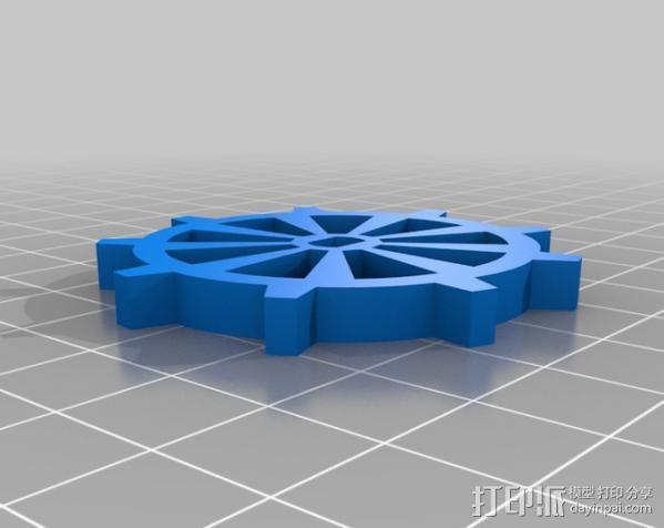 坦克机器人 履带 3D模型  图5