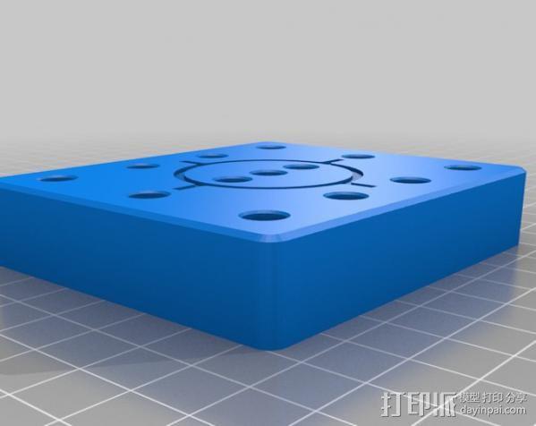 弹药托盘 3D模型  图1