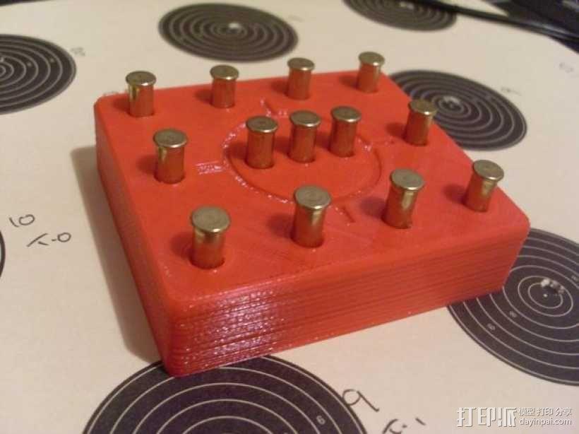 弹药托盘 3D模型  图2