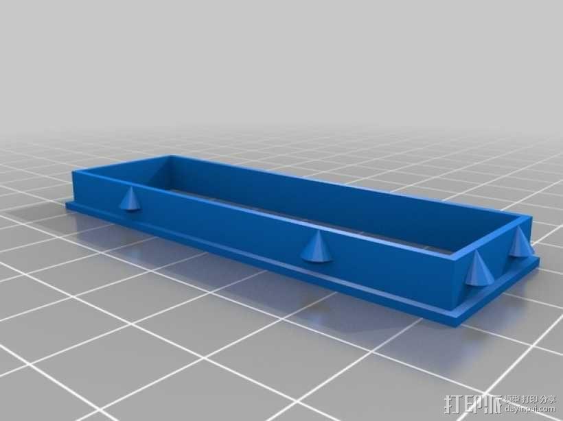 定制化LED显示器外壳 框架 3D模型  图2