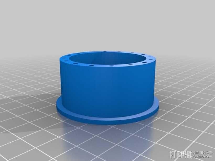胎圈锁止器 3D模型  图1