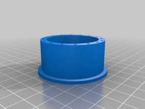 胎圈锁止器 3D模型