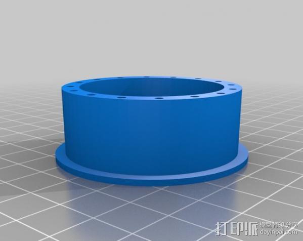 胎圈锁止器 3D模型  图3
