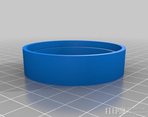 胎圈锁止器 3D模型  图7