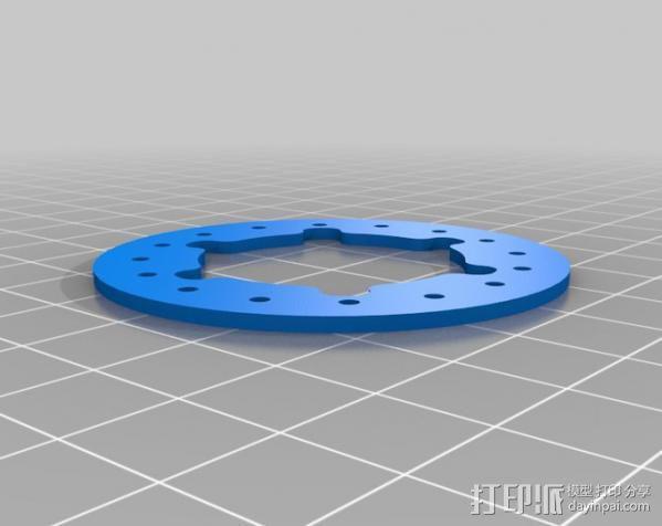 胎圈锁止器 3D模型  图9