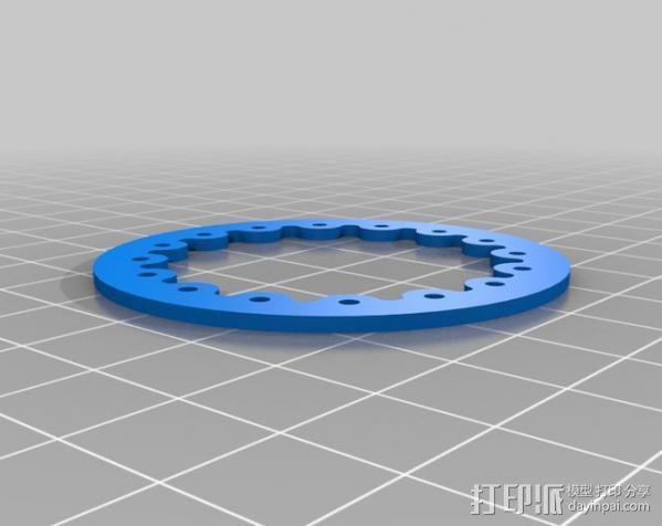 胎圈锁止器 3D模型  图10