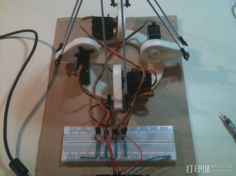 Delta机器人 3D模型  图2