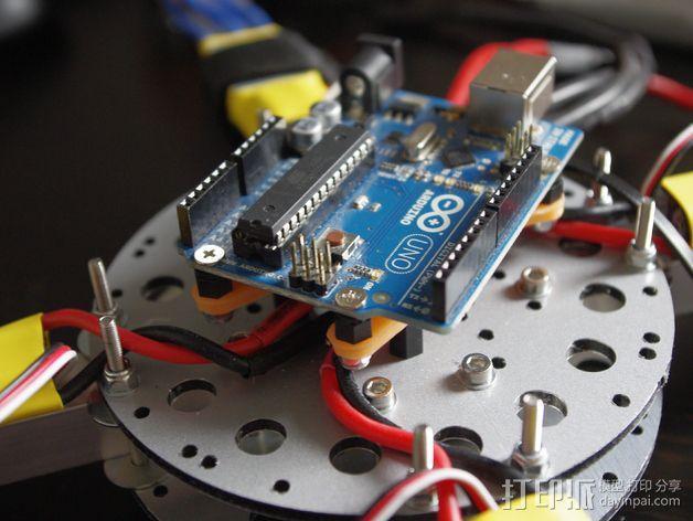 Arduino Uno电路板支架 3D模型  图4