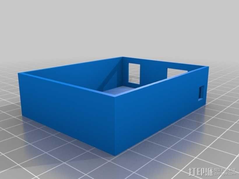 Arduino Uno电路板 托盘 3D模型  图1