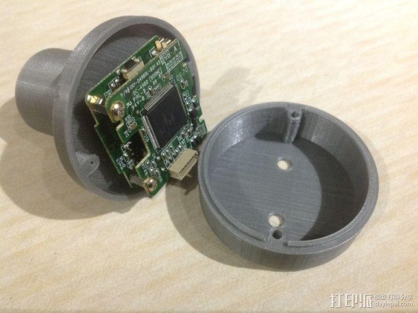 SPC900NC网络摄像头 望远镜适配器 3D模型  图1