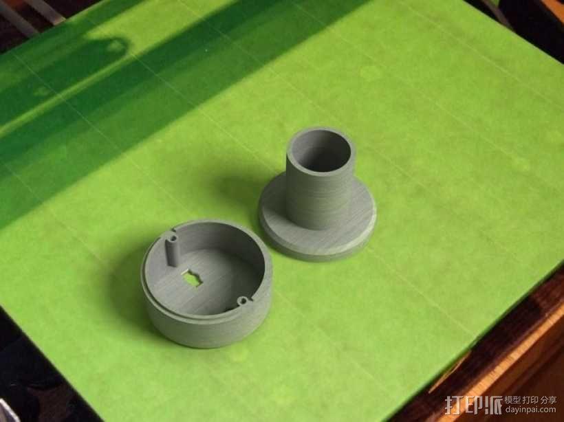 SPC900NC网络摄像头 望远镜适配器 3D模型  图4