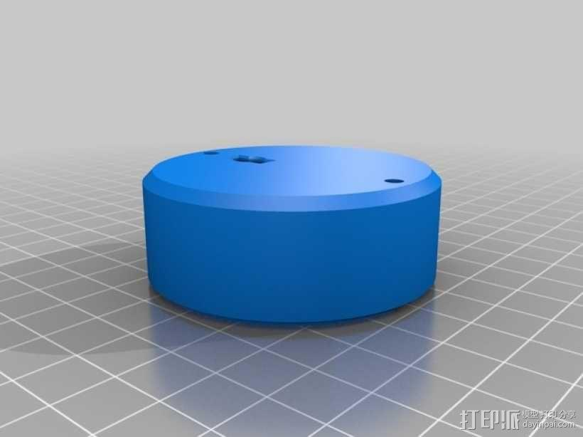 SPC900NC网络摄像头 望远镜适配器 3D模型  图6