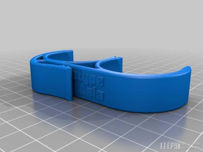 高尔夫球固定夹 3D模型  图1