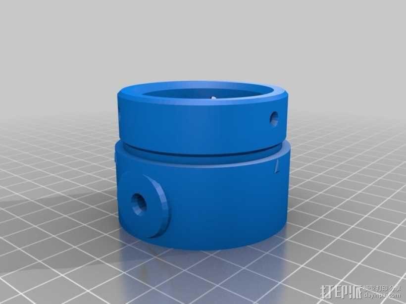 气压/液压缸 3D模型  图4