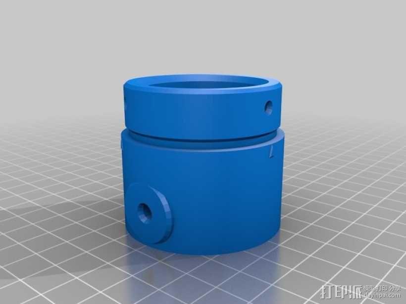 气压/液压缸 3D模型  图5