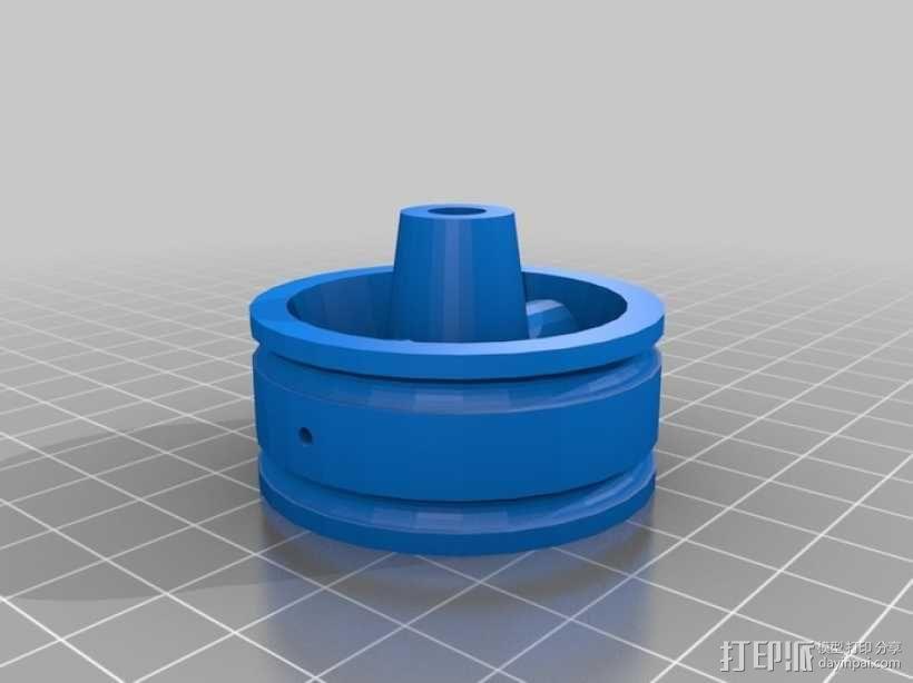 气压/液压缸 3D模型  图6