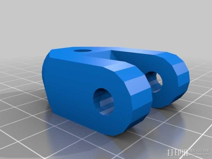 气压/液压缸 3D模型  图7