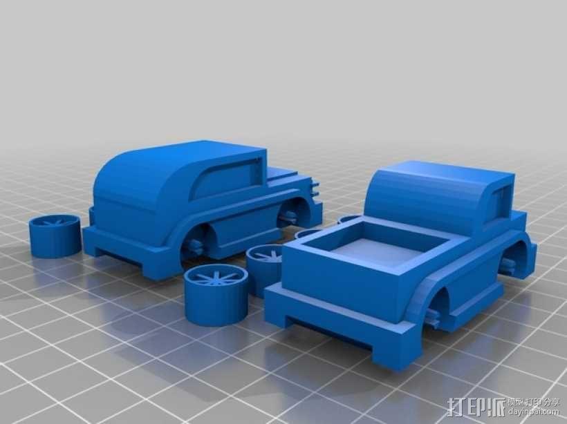 儿童 小汽车 3D模型  图2