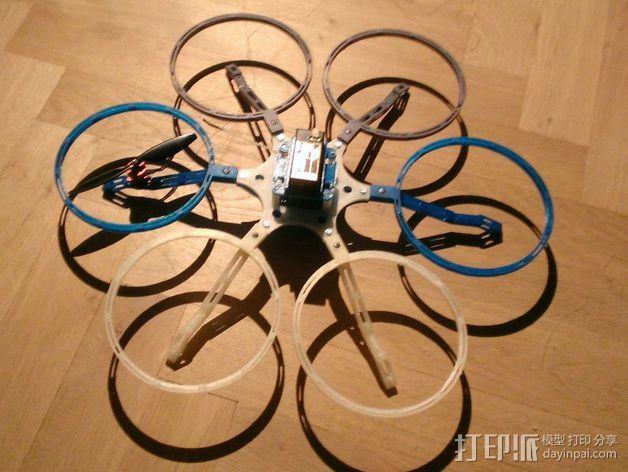 六轴飞行器 3D模型  图6