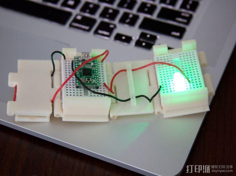 开关按钮 外壳 3D模型  图1