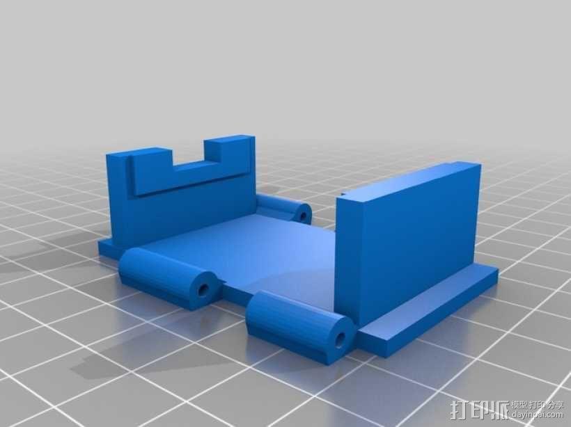开关按钮 外壳 3D模型  图3