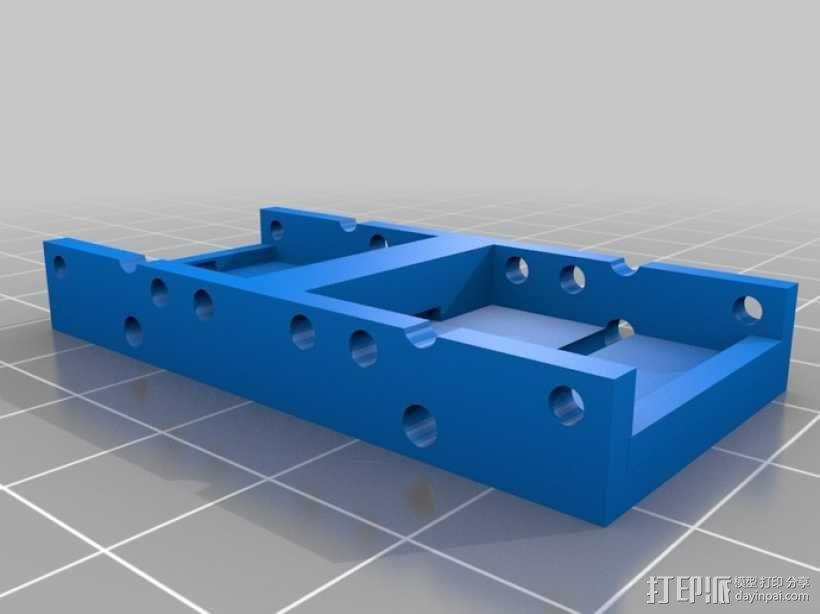 开关按钮 外壳 3D模型  图6