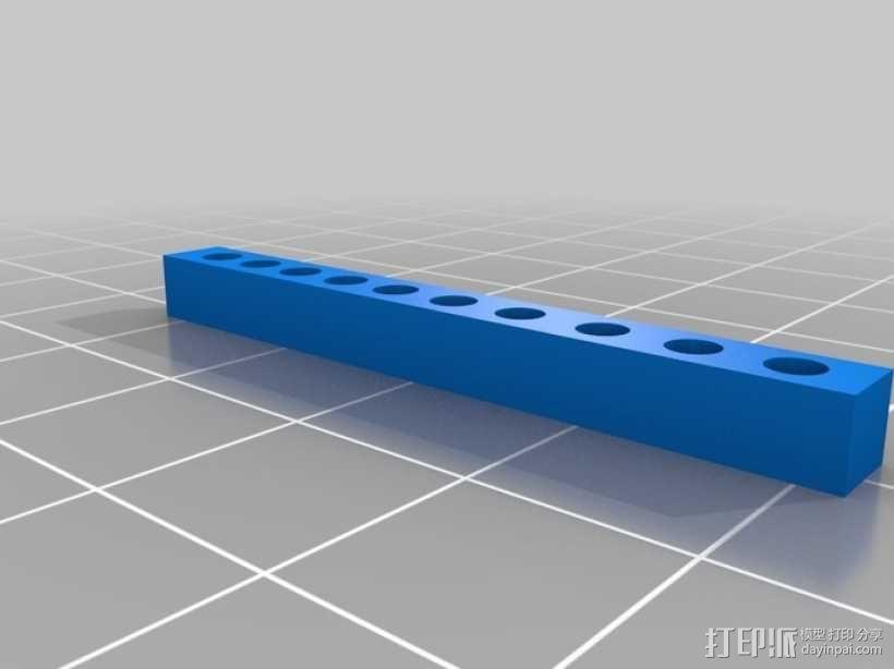 开关按钮 外壳 3D模型  图9