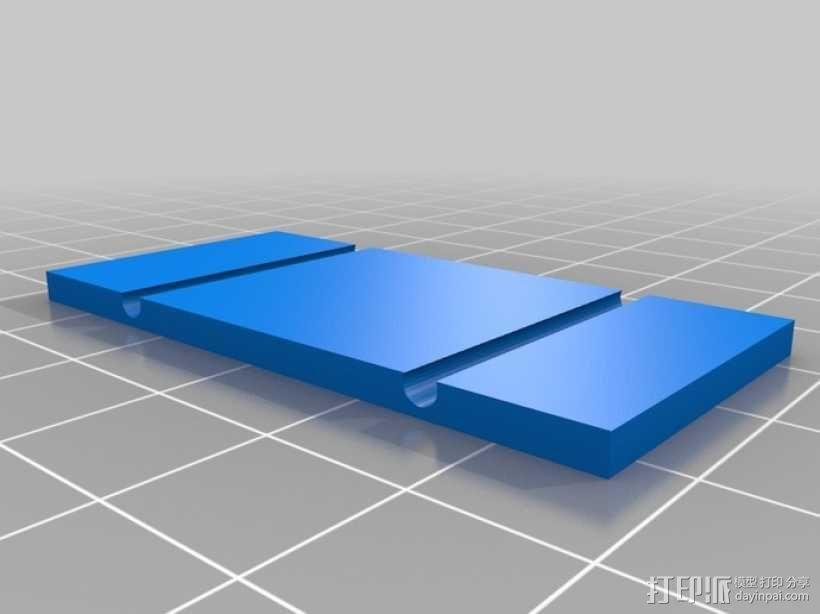 开关按钮 外壳 3D模型  图7