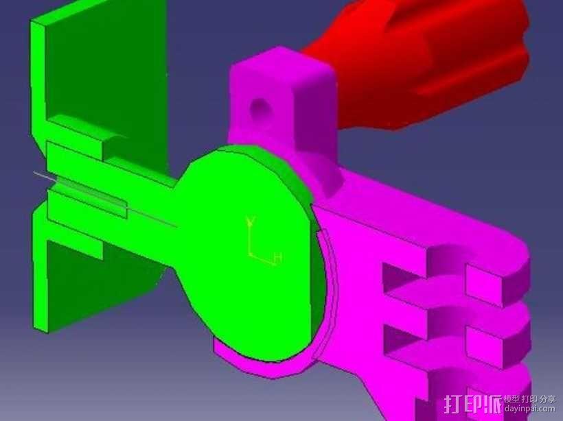 球形接头  3D模型  图3