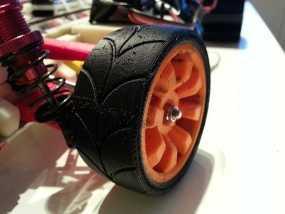 1:10车轮轮胎 3D模型