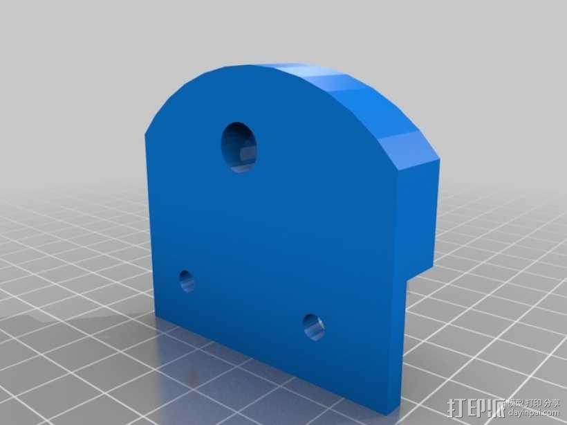 简易迷你CNC设备 3D模型  图1