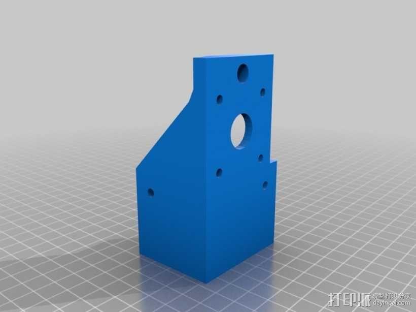简易迷你CNC设备 3D模型  图2
