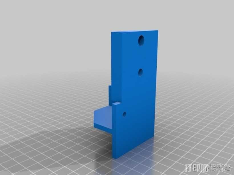 简易迷你CNC设备 3D模型  图3