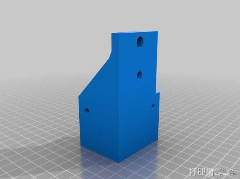 简易迷你CNC设备 3D模型  图4