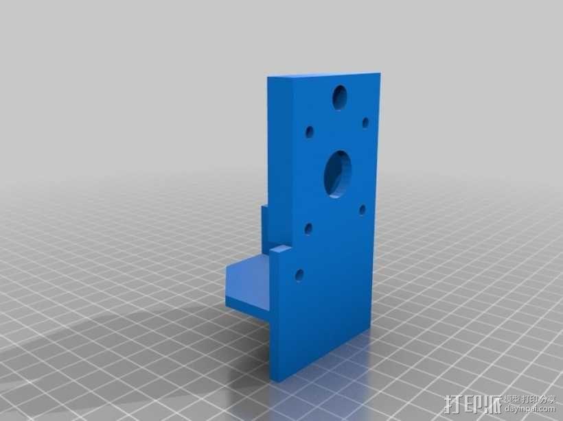 简易迷你CNC设备 3D模型  图5