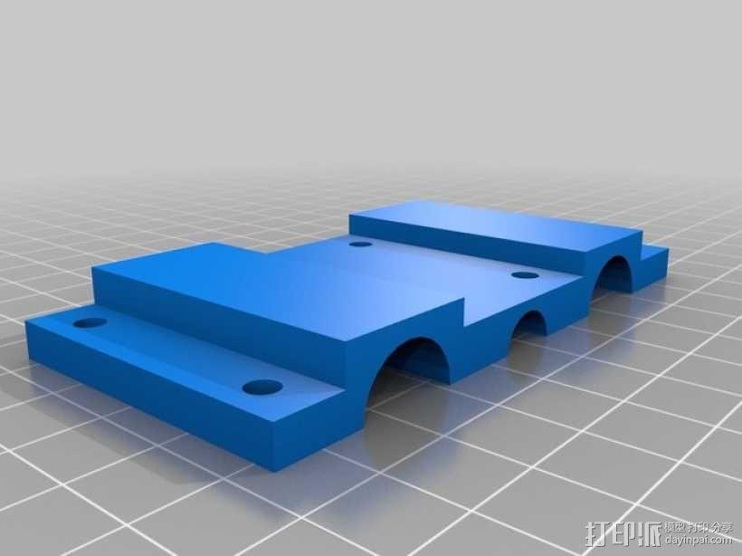 简易迷你CNC设备 3D模型  图6
