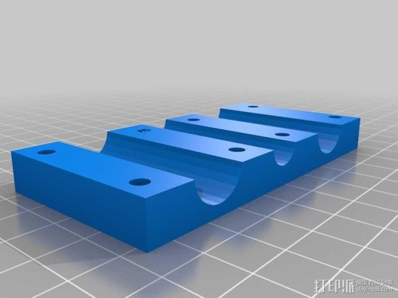 简易迷你CNC设备 3D模型  图7