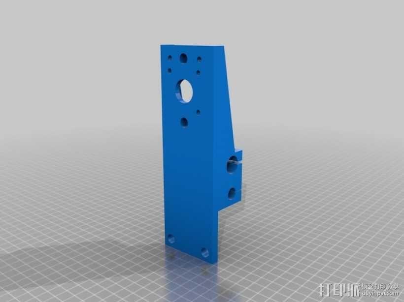 简易迷你CNC设备 3D模型  图9
