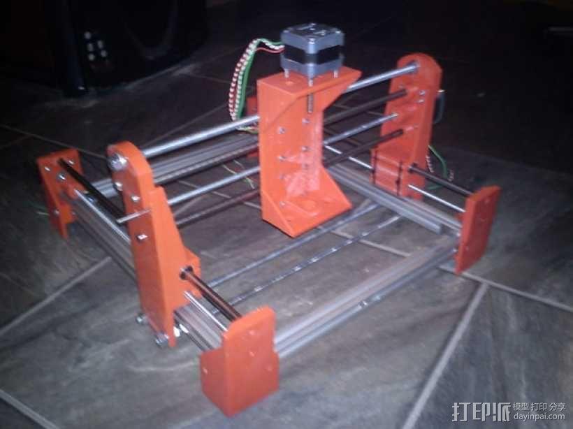 简易迷你CNC设备 3D模型  图10
