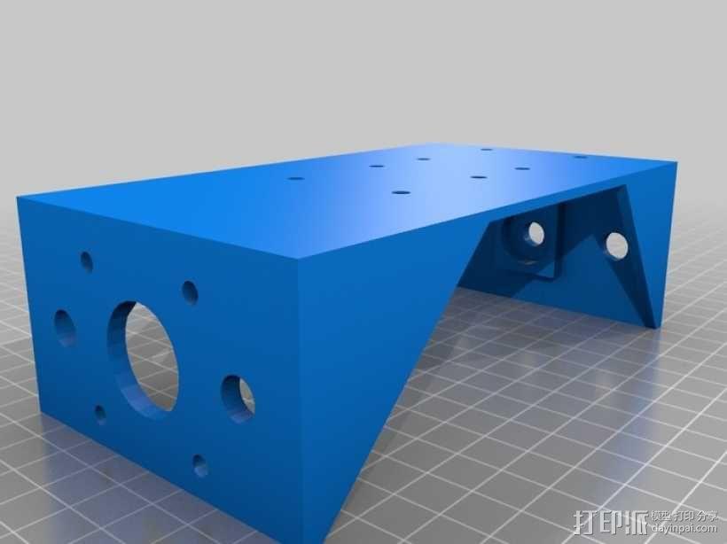 简易迷你CNC设备 3D模型  图13