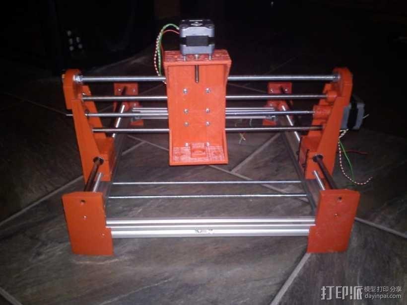 简易迷你CNC设备 3D模型  图11