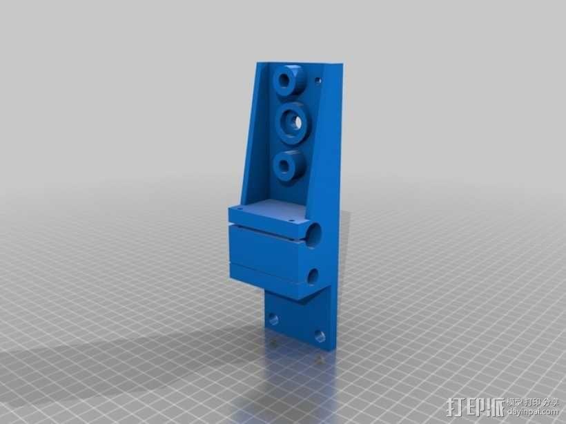 简易迷你CNC设备 3D模型  图17