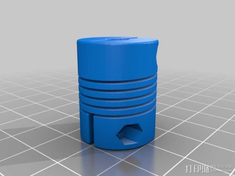 简易迷你CNC设备 3D模型  图19