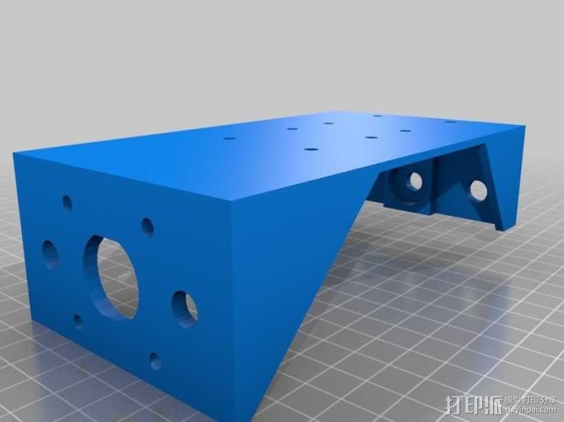 简易迷你CNC设备 3D模型  图20