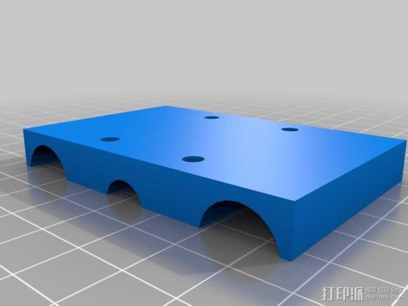 简易迷你CNC设备 3D模型  图21