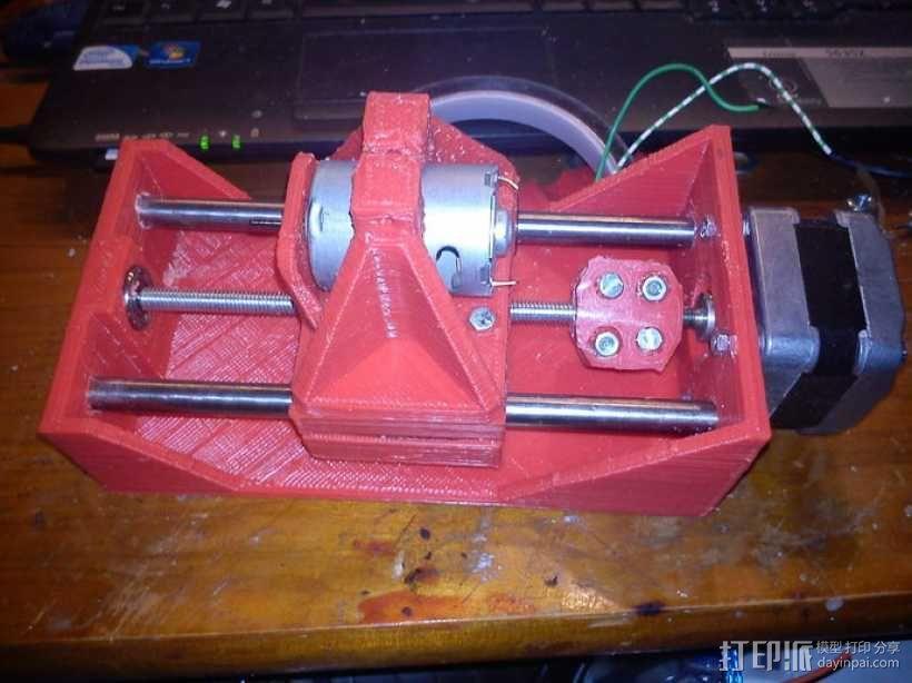 简易迷你CNC设备 3D模型  图26