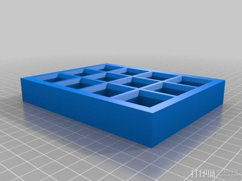 油漆瓶 底座 3D模型  图2