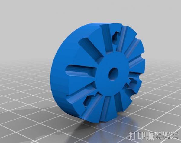 印刷电路板 工作台 3D模型  图1